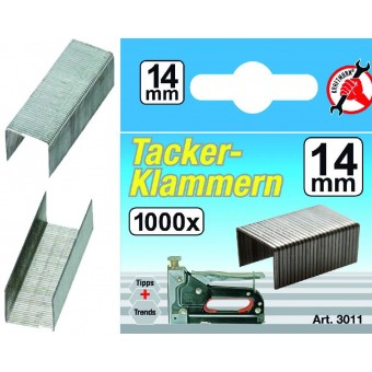 'L'/ BLISTER 1000 GRAPAS DE 14 MM, KRAFTMANN